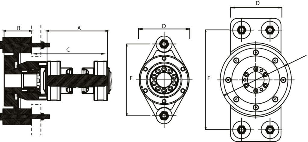 Hydradrive Dimensions